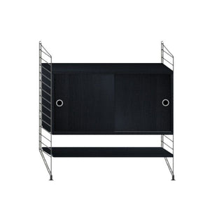 String System dressoir small zwart - [oosterlinck]