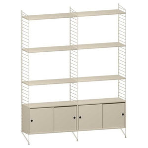 String System hoge kast medium beige - [oosterlinck]