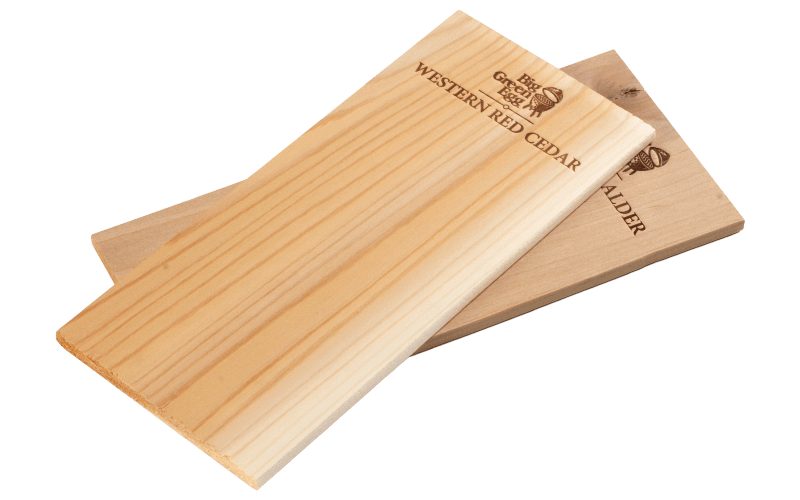 Big Green Egg Cedar grilling planks - [oosterlinck]