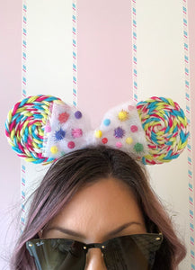 Celebration Lollipop Minnie Mouse Ears