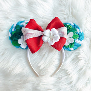 Moana / Lilo & Stitch Inspired Lollipop Minnie Mouse Ears