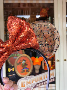 Pumpkin Vamps Translucent Mouse Ears