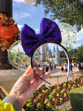 Load image into Gallery viewer, Purple Potion Translucent Mouse Ears