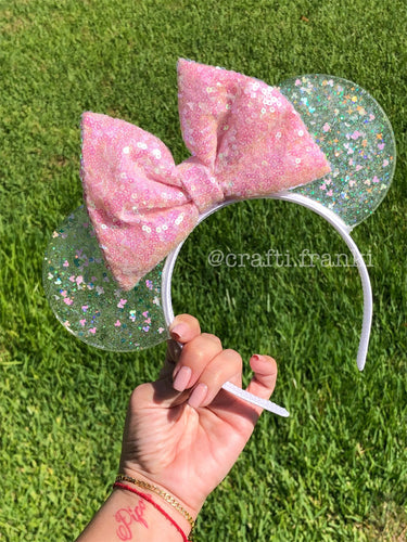 Mickey Iridescent Confetti Translucent Mouse Ears