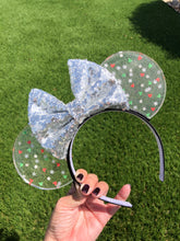Load image into Gallery viewer, Very Merry Mickey Translucent Mouse Ears