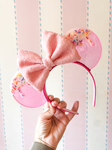 Double Scoop Drip Translucent Mouse Ears