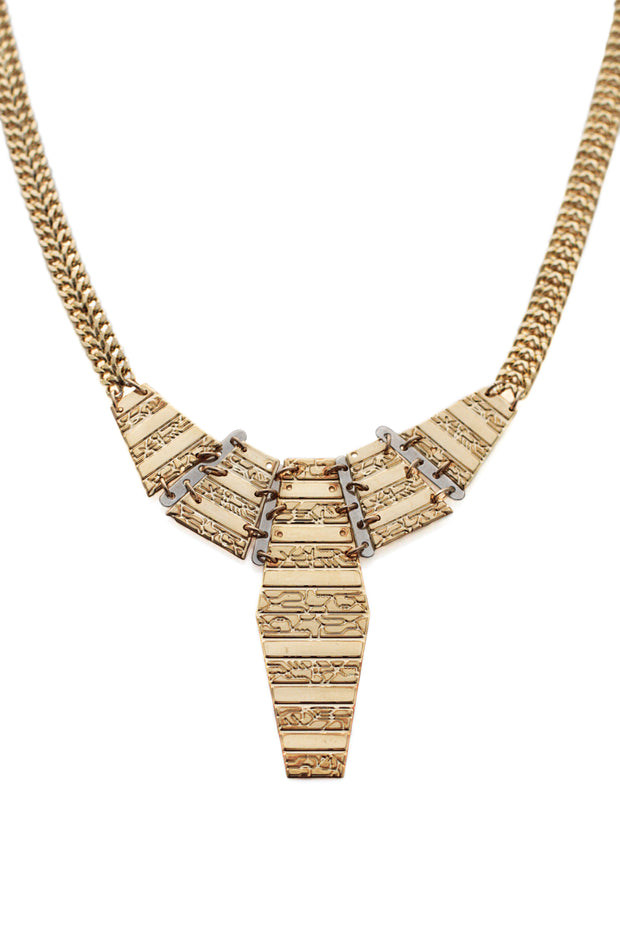 Classic Totem Statement Necklace