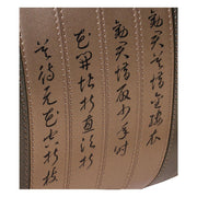Calligraphy Green Satchel