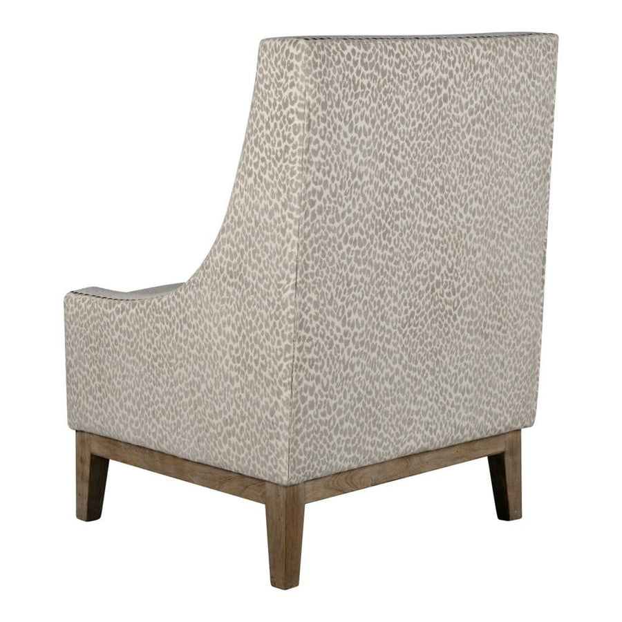 Jasmine Chair - Snow Leopard