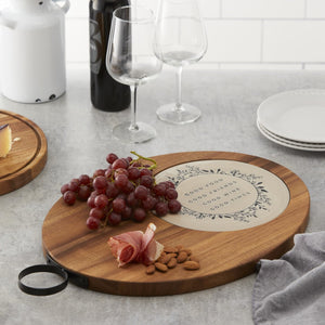 Large Acacia Wood Serve & Cut Board