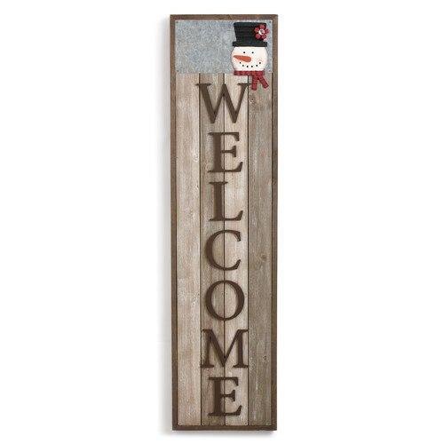 Welcome Magnetic Floor Sign