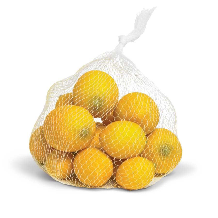 Assorted Bag of 16 Yellow Lemons