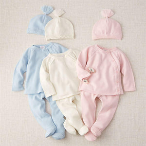 Ivory Knit Take-Me-Home Set -  0-3M
