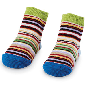 Multi-Colored Stripe Socks