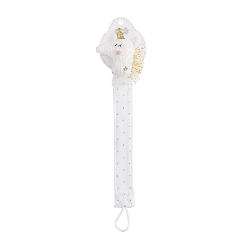 Unicorn Knit Pacy Clip