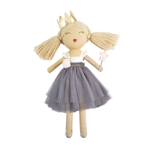 Grey Ballerina Doll