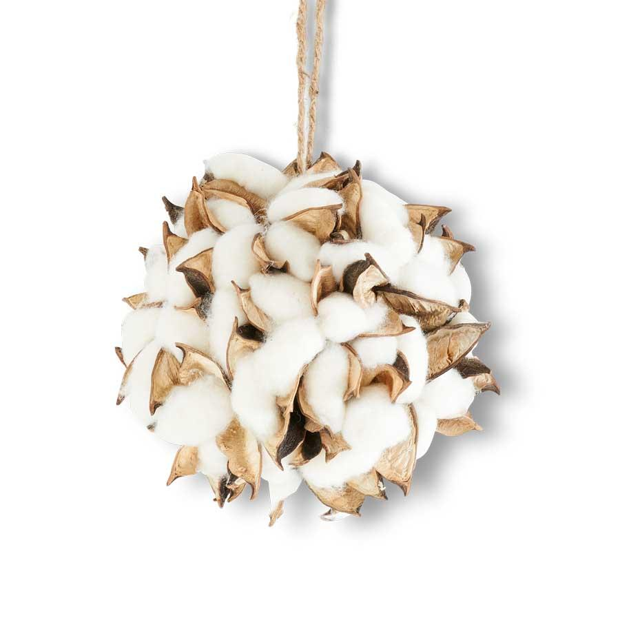 Cotton Pod Ornament