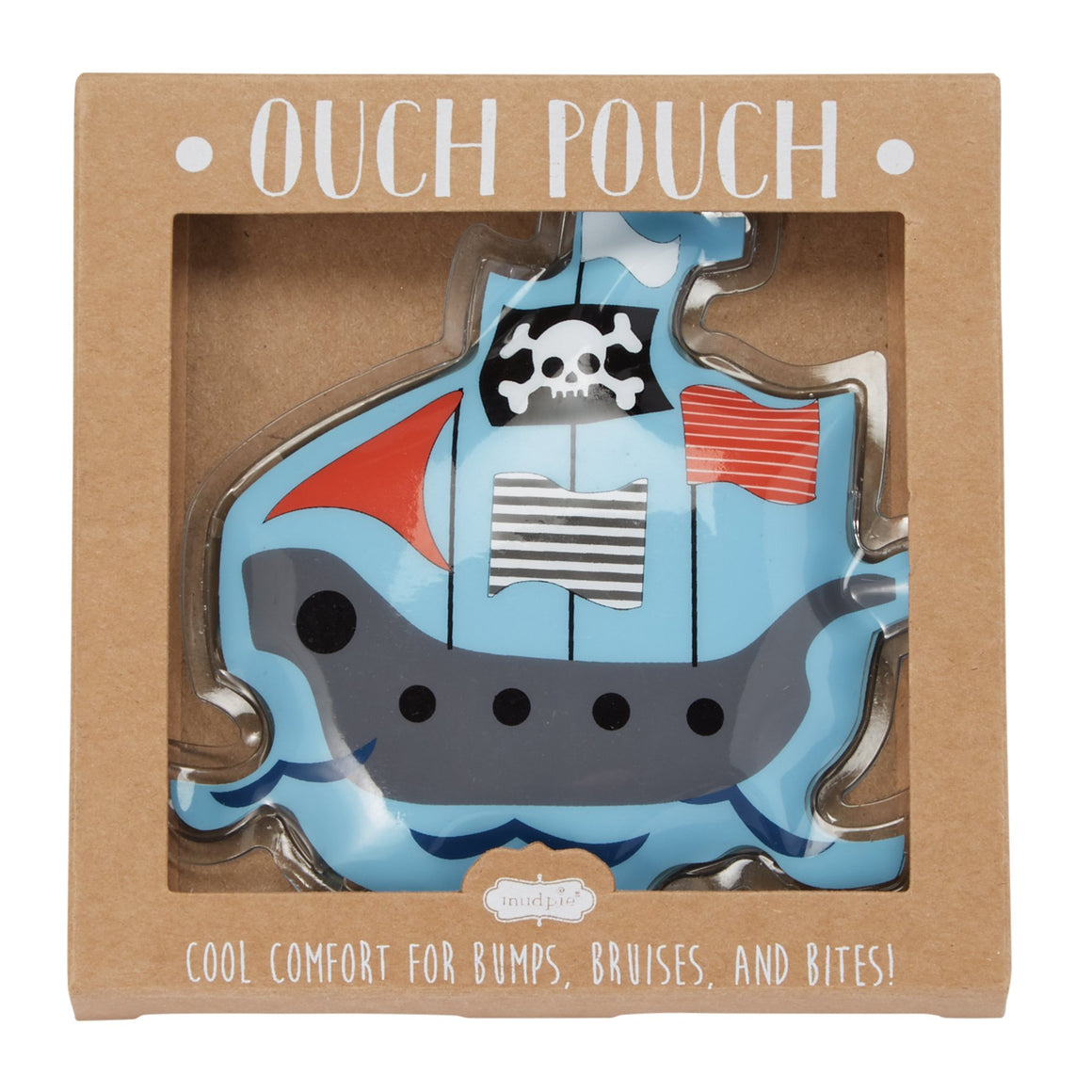 Pirate Ship Ouch Pouch Gel Ice Pack
