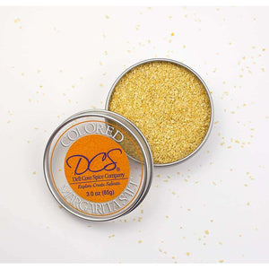 Dell Cove Spices & More Co. - Colored Margarita Salt - Gold Cocktail Salt