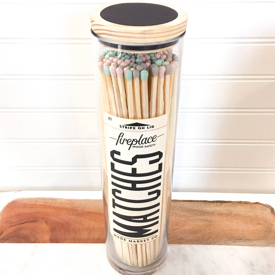 Made Market Co. - Classic Mix Vintage Apothecary Fireplace Matches