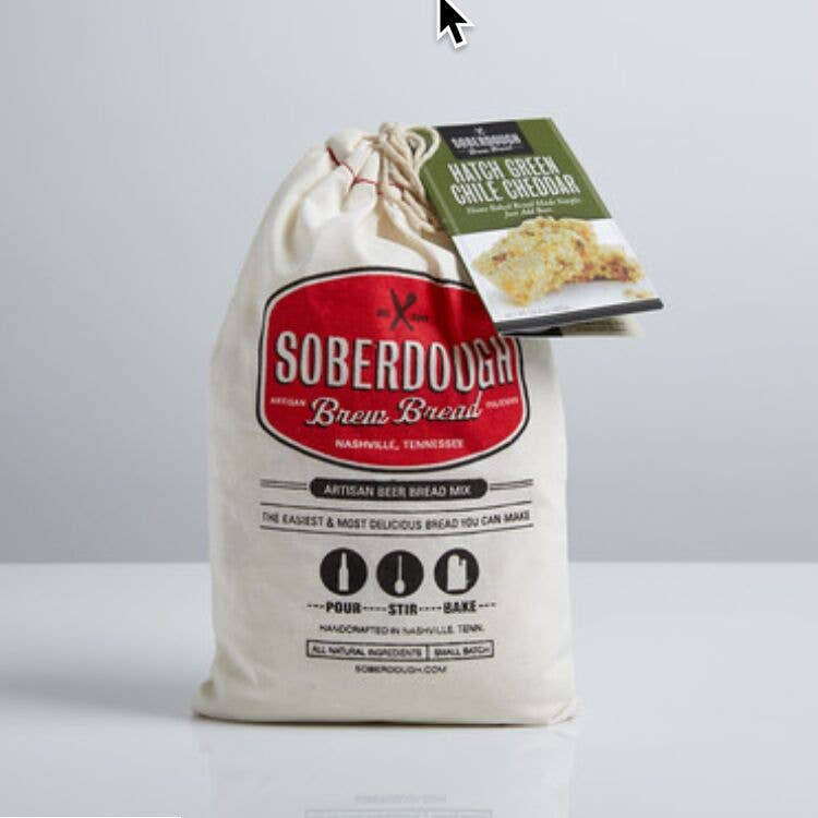 Soberdough - Hatch Green Chile Cheddar - Half Case
