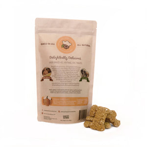 Delightfully Delicious Dog Treats - Oven Baked Organic Pumpkin Dog Treat