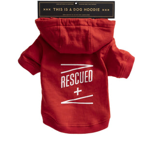 Rescued Dog Hoodie - Large