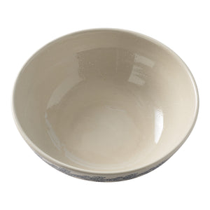 Salt Glaze Serve Bowl
