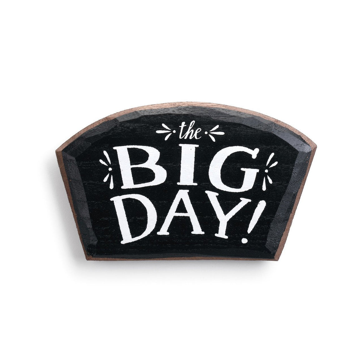 The Big Day Magnetic Wood Token