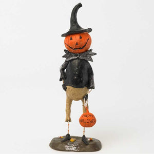 [3/24] | 10 Inch Pumpkin Man with Happy Halloween Pumpkin
