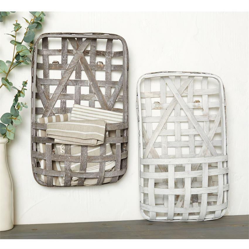 Tobacco Basket Wall Pockets