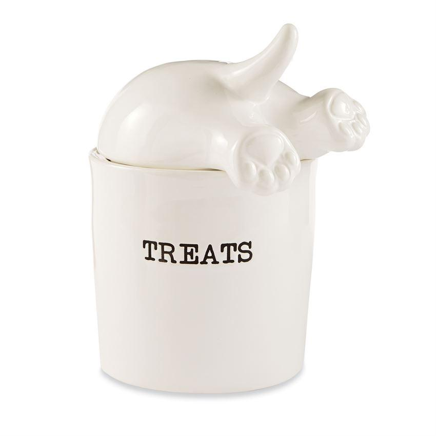 Dog Tail Treat Canister