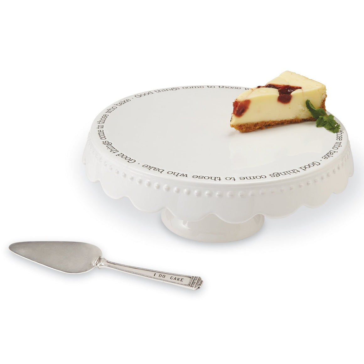 Good Things Cake Plate Set
