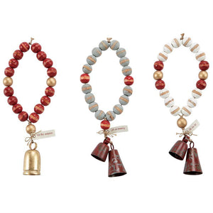 """Oh So Merry"" Jingle Bell Beads"