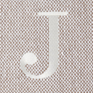 "Initial ""J"" Throw Blanket Assortment"