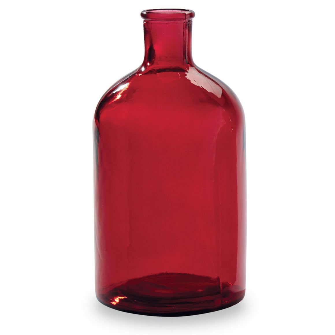 Red Bottleneck Vase - Large