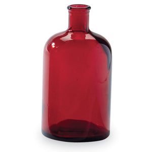 Red Bottleneck Vase - Small
