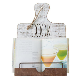 """COOK"" Cookbook Holder"
