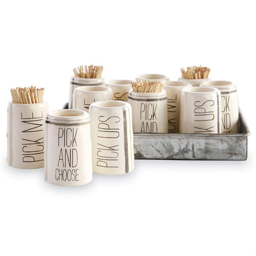 Pick and Choose Toothpick Holder