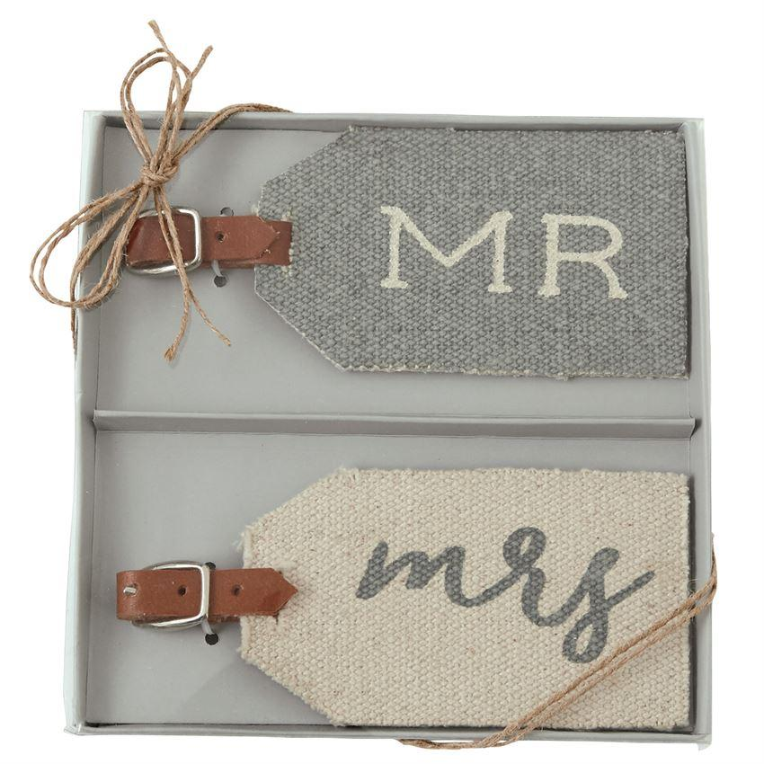 Wedding Dhurrie Luggage Tag Sets