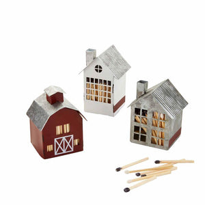 Tin Matchbox Houses