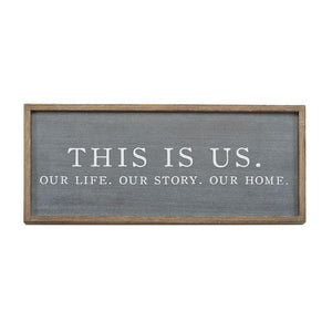 This Is Us Plaque