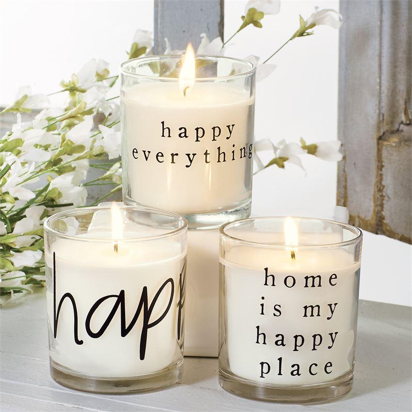 Happy Home Bagged Candles