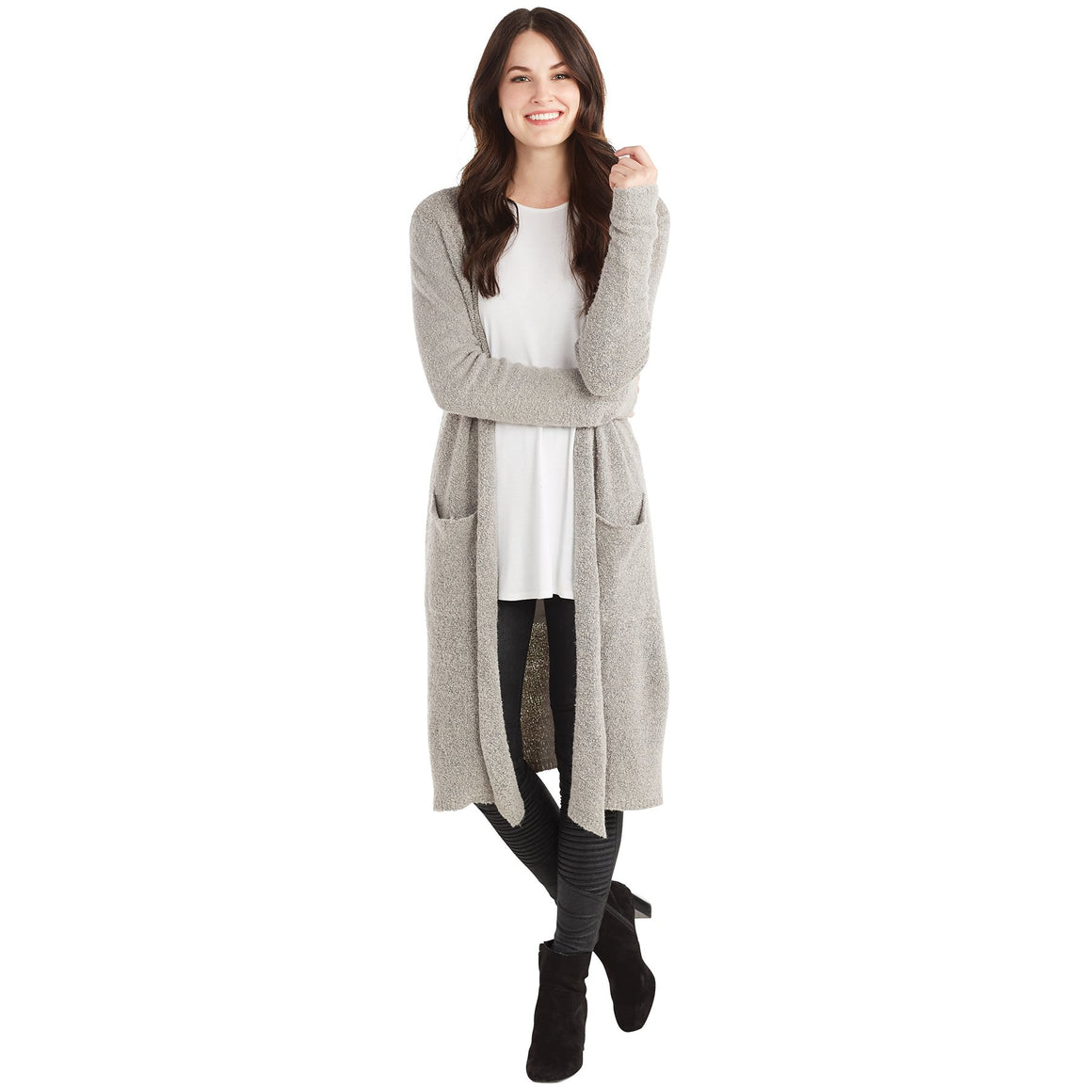 Gray Anniston Cardigan Individual Sizes