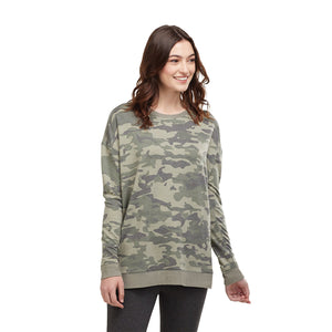 Fanning Sweatshirt Green - Medium