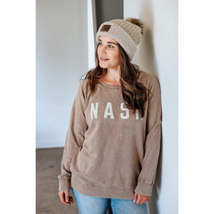 The NASH Collection - Mineral Wash NASH Pullover