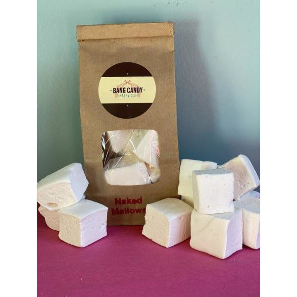 9-PC Vanilla Naked Marshmallows