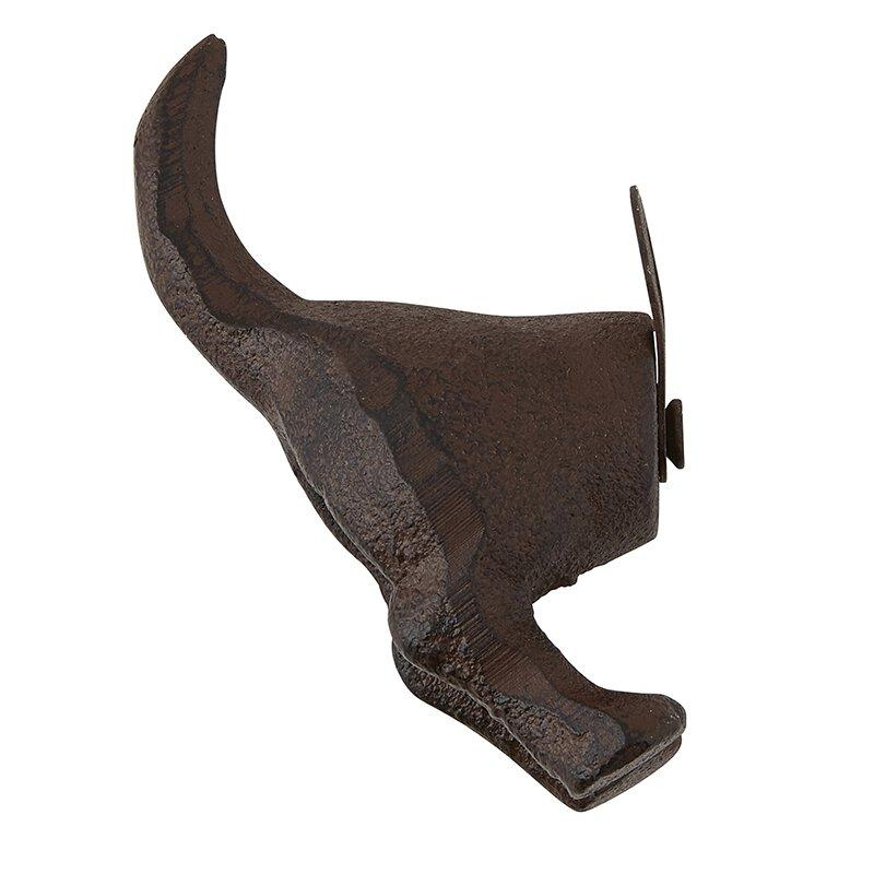 Cast Iron Hook - Dog Tail