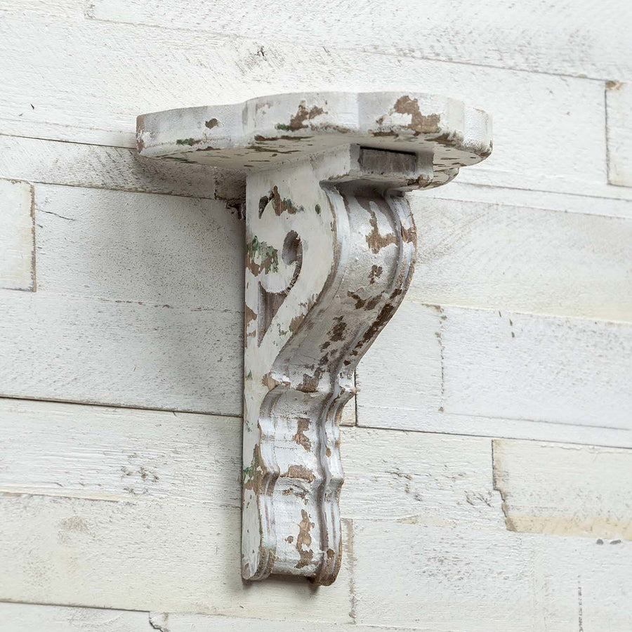White Corbel Shelf