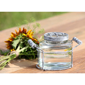 Jar Flower Holder
